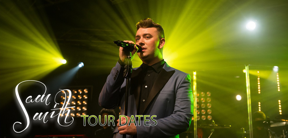 Sam smith tour dates in Melbourne
